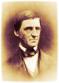 Ralph Waldo Emerson, US-amerikanischer Philosoph und Schriftsteller.