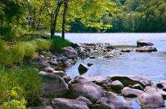 Wir bestimmen ob unser Fluss fließt oder staut